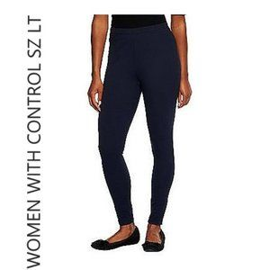 QVC Women with Control Tall Fit Pull-On Knit Leggi